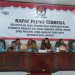 Dirkrimsus Polda Banten Hadiri Pleno KPUD Cilegon Sebagai Jaminan Keamanan