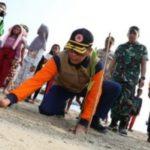 Cegah Tsunami, BNPB Bangun Benteng Alam
