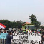 Peduli Udara Bersih, Warga SETU Gelar Aksi Terkait Polusi Dan Pencemaran Udara