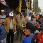 Walikota Serang Turun Tangan Bersihkan Pasar Rau