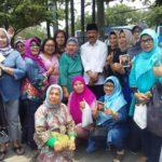 Bakal Calon Walikota Tangsel Muhamad Di Serbu Emak-emak