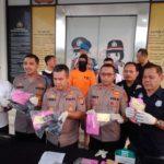 Pengedar Narkotika dan Penjual Senjata Api Ditangkap Polres Tangsel