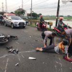 Kecelakaan Beruntun, Kapolres Serang Bantu Korban Laka Lantas