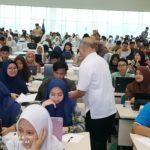 Ratusan Siswa Ikuti Tryout ITB