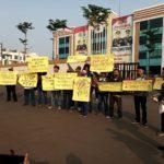 Puluhan Wartawan Tangsel Gelar Aksi Tuntut Usut Tuntas Intimidasi dan Kekerasan Pada Jurnalis