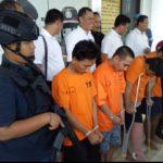 Polres Tangerang Selatan Bekuk 4 Pelaku Pembobol Mesin ATM
