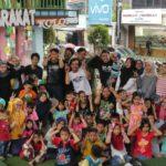 Puluhan Anak Di Flyover Ciputat Ikuti Sosialisasi Pencegahan Kekerasan Pada Anak