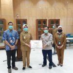 Pemkot Tangsel Terima Bantuan 200 APD dan 500 Liter Disinfektan dari CSR