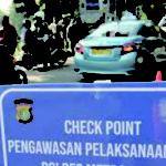 Satlantas Polres Tangsel Akan Jaga 12 Cek Poin Selama PSBB