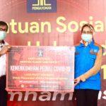 Kemenkumham Berikan 1000 Paket Sembako dan Masker untuk Tangsel