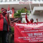 Perjuangkan Kader Internal, Akar Rumput PDIP Tangsel Geruduk DPP