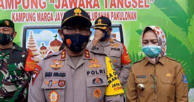 Walikota Tangsel Airin Rachmi Diany Dampingi Kapolda Metro Jaya Kunjungi Kampung Jawara