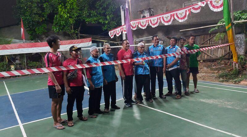WSD buka Open turnamen badminton RW 02.